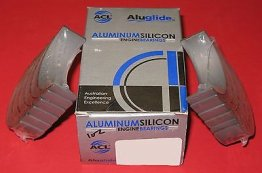 ACL 4M1149A-STD Aluglide Main Bearings Mitsubishi Dodge 6G72 3000GT GTO Stealth
