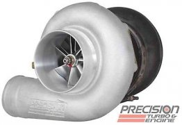 Precision 700-3025 Turbo 88mm Entry Level MFS 1250WHP Journal BRG Turbocharger