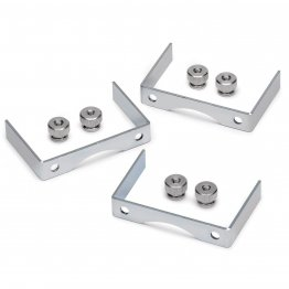 "Auto Meter 2226 Gauge Bracket Kit 2-5/8"" Aluminum"
