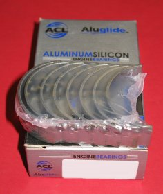 ACL 4B8390A-.50 Aluglide Rod Bearings for Toyota 1E 2E 4EFE +.50mm