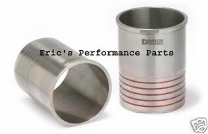 Darton 300-050 Performance Flanged Sleeves for Mitsubishi 4G63 EVO I-IX Eclipse