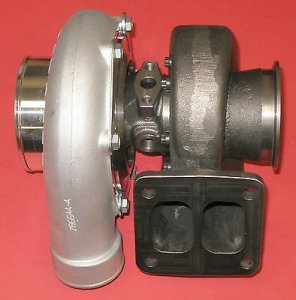 Garrett GTX3582R Turbo with T4 Divided Turbine Housing 1.06 A/R V-Band Outlet