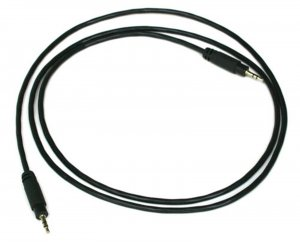 Innovate 3760 4' Patch Cable Stereo M2.5 to M2.5 Daisy-Chain XD-16 to LC-1 + LMA