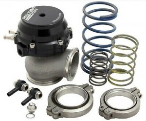 Precision 085-2200 External Wastegate 46mm Black Water Cooled Turbo Control