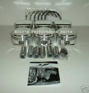 CP SC7462 Pistons Toyota 2JZ-GTE Supra MKIV JZA80 Twin Turbo 87.5mm 8.5:1