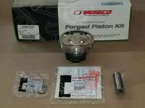 Wiseco K598M100AP Forged Pistons for Subaru EJ25 100mm Bore 8.5:1 WRX STI