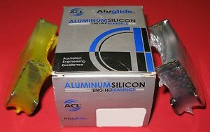 ACL 5M2747A-.25 Aluglide Main Bearings for Nissan KA24 KA24DE KA24E S13 S14