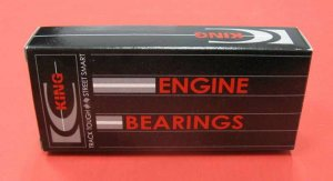 King CR4125CP0.25 Rod Bearings for Subaru EJ18 EJ20 EJ22 EJ25 52mm +.25mm .010""
