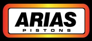 Arias 1212303425 Piston Rings for 87mm Pistons SINGLE