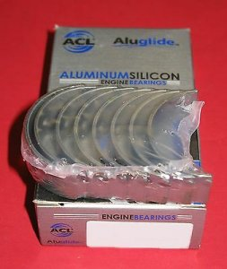 ACL 4B1615A-.50 Aluglide Rod Bearings VW Audi 1.8T 2.0 2.0T NO-TANG 18.5mm Wide