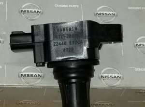 Nissan 22448-EY00A OEM Ignition Coil for VQ37VHR Z34 V36 370Z G37 VQ37