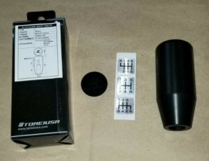 Tomei TF101A-0000A Shift Knob Duracon 90mm M10 x 1.25 for Nissan Mazda Mitsu