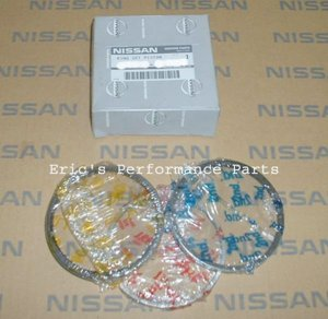 Nissan 12033-21U10 OEM Piston Rings RB25DET R33 86mm STD for SINGLE PISTON