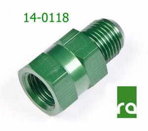 Radium 14-0118 M14 x 1.5 Inverted Flare to -6AN Male Long Honda Acura S2000